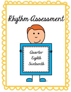 Grades 4-5 Rhythm Assessment