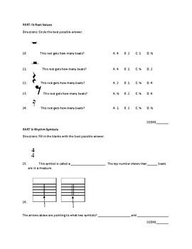 Rhythm Assessment