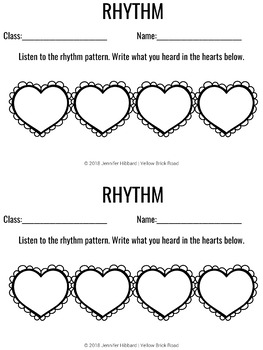 Rhythm Assessments for Music