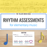 Rhythm Assessments for Music