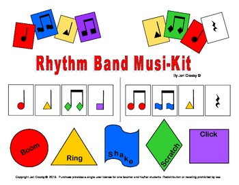 Rhythm Band Musi-Kit, Printables & Lessons
