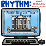 Rhythm Bank and Trust - Distance Learning - Easel Activity