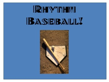 Rhythm Baseball- Quarters to 16ths!