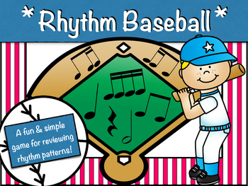 """Rhythm Baseball"" - a rhythm review game!"