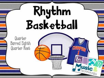 Rhythm Basketball (Quarter, Barred Eighth, Quarter Rest)-