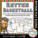 Rhythm Basketball - Vol 1 Fun music activity 4/5 Lesson Pl