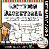 Rhythm Basketball - Vol 1 Fun music activity 4/5 Lesson Pl