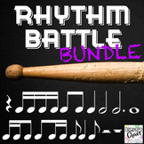 Rhythm Battle Bundle: projectable rhythm flash cards