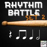 Rhythm Battle Set 2: projectable rhythm flash cards