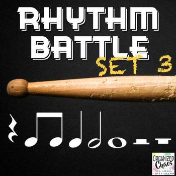 Rhythm Battle Set 3: projectable rhythm flash cards
