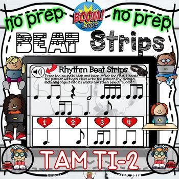 Rhythm Beat Strips (Tam Ti 2)  - Boom Digital Task Cards