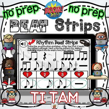 Rhythm Beat Strips (Ti Tam)  - Boom Digital Task Cards