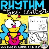 Rhythm Bee Level 1 {Color and Ink-Friendly Game for One St