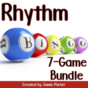 Rhythm Bingo: 7-Game Bundle