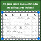 Rhythm Bingo Game ~ Dotted Half Note Music Game {2 measures}