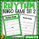 Rhythm Bingo Game- Listening and Performing