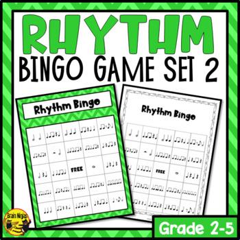 Rhythm Bingo Game- Listening and Performing