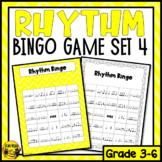 Syncopated Rhythms Bingo Game- Listening and Performing
