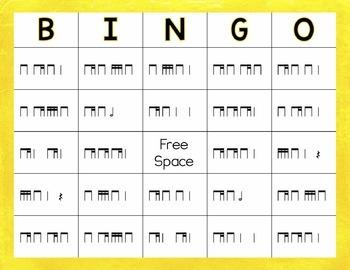 Rhythm Bingo: Ti-Tika