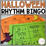 Rhythm Bingo for Halloween