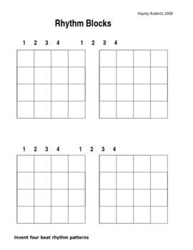 Rhythm Blocks - Introduction to rhythm sequencing