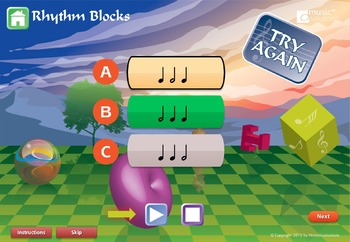 Rhythm Blocks Product Preview Video