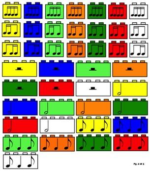 Rhythm Blocks Smart Notebook Gallery