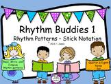 Rhythm Buddies 1 {ta, ti-ti set}