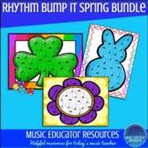 Rhythm Bump It Game- Spring Templates Bundle
