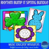 Rhythm Bump It Game- Spring Templates Bundle