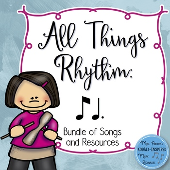 Rhythm Bundle: Ti Tom (Eighth Note / Dotted Quarter Note)