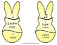 Rhythm Bunny Matching Game for Spring Music Centers
