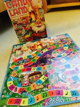 Rhythm Candyland: Level One Playing Cards