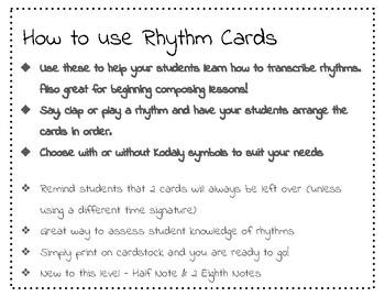 Rhythm Card #3