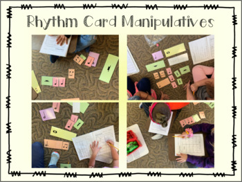 Rhythm Card Manipulatives