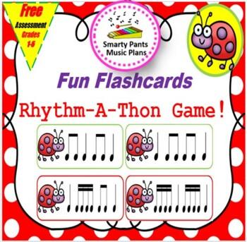 Rhythm Cards {Flashcard Rhythm-A-Thon}