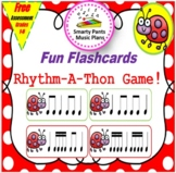 Rhythm Cards {Flashcard Rhythm-A-Thon}