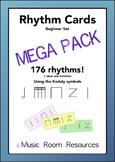 Rhythm Cards Mega Pack - Kodaly Notation