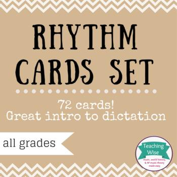 Rhythm Cards Set