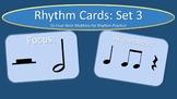 Rhythm Cards Set 3: Half Notes and Half Rests