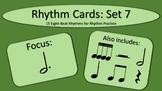 Rhythm Cards Set 7: Dotted Half Notes