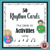 MUSIC ACTIVITIES: 50 Music Rhythm Cards and Activities