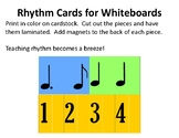 Rhythm Cards for Whiteboards