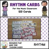 Rhythm Cards for the Music Classroom