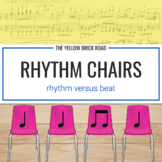 Rhythm Chairs Level One: quarter and eighth notes