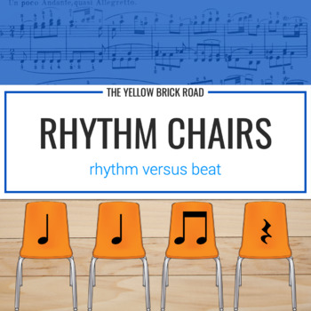 Rhythm Chairs Level Two: quarter rest