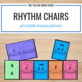 Rhythm Chairs Printable Manipulatives