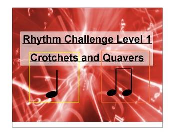 Rhythm Challenge Level 1--British