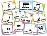 Rhythm Chart Display - Multicolor