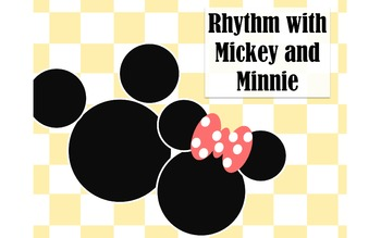 "Rhythm Charts - ""Mickey and Minnie Mouse"" Edition"